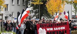 """HINTERGRUND: Die Neonazi-Partei """"Die Rechte"""", der Hass gegen Flüchtlinge und die Sorge vor Rechtsterrorismus"""