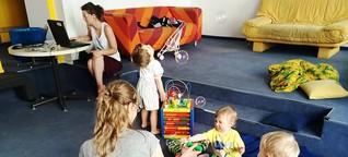 Mit dem Kleinkind zur Arbeit | MDR.DE