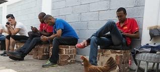 Kuba: Ein Mann lässt alle ins Internet