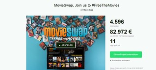 MovieSwap – wie ein Start-up DVDs befreien will und dabei Hollywood herausfordert