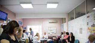 Linderung für Athen : Eine Sozialklinik in Athen hilft Menschen, die sich keine Krankenversicherung mehr leisten können