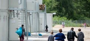 Baumarkt und Zelte: Ein Streifzug durch Hamburger Flüchtlingsheime