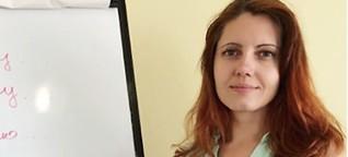 Eine Psychologin in der Republik Moldau