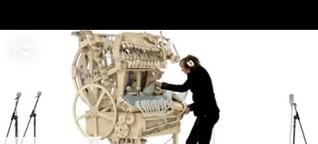 Marble Machine: Musik mit 2000 Murmeln   Euromaxx
