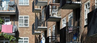 Wohnungsmarkt in Großbritannien: Beziehungsweise obdachlos