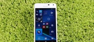 Microsoft Lumia 650 im Test: Bietet die Konkurrenz mehr fürs Geld?