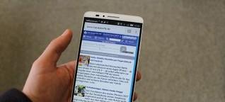 Huawei Ascend Mate 7 im Test: Klasse Phablet! | Huawei | handytarife.de - Die Tarifexperten