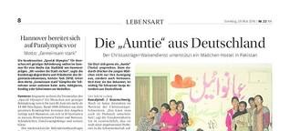 """Die """"Auntie"""" aus Deutschland"""