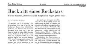 Rücktritt eines Rockstars