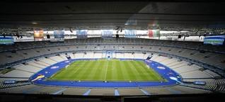 Bannerwerbung bei der Fußball-EM - Neue Bühne für Autokraten