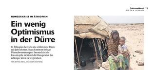 Zur Hungerkrise in Äthiopien