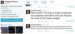 US-Präsident Barack Obama kündigt Staatsbesuch in Kuba an