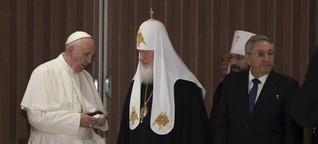 Historischer Besuch von Papst Franziskus in Kuba und Mexiko