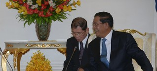 Adidas: Gefährliche Geschäfte mit Kambodschas Herrscher?