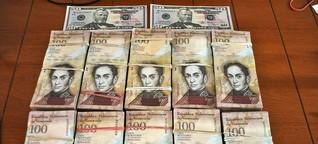 Inflation in Venezuela: Geld gibts nur kiloweise - SPIEGEL ONLINE