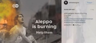 #AleppoIsBurning: Can a Twitter trend help end the Syrian war?