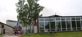 Großbrand im Lankower Fitness-Studio