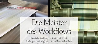 Die Meister des Workflows