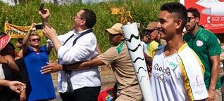 Olympischer Fackellauf: Einmal träumen