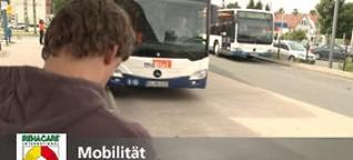 Mobilität - Barrierefrei mit Bus und Bahn