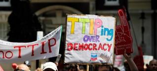 TTIP: Wirtschaft gegen Menschenwürde?