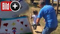 Mal-Therapie für Erdbebenopfer - Das sind die Bilder der traumatisierten Kinder
