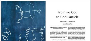 From no God to God Particle - Edinburgh Explorer