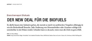 Branchenreport Biofuels