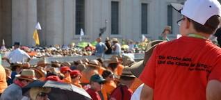 Zehntausende feiern mit dem Papst
