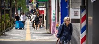 Hoffnung für Nippon über dem Zenit