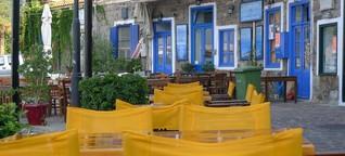 Die vergessene Insel: Tourismuseinbruch auf Lesbos