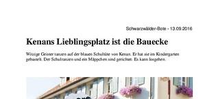 Kenan lernt Deutsch