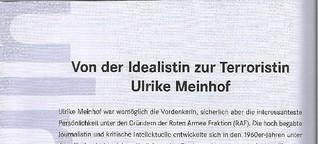 Von der Idealistin zur Terroristin - Ulrike Meinhof
