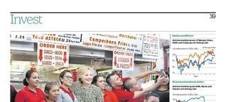 Finanzmärkte hoffen auf Wahlsieg von Clinton
