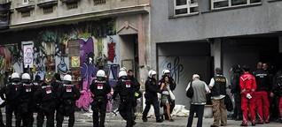 """Polizei räumte """"Pizzeria Anarchia"""": 19 Besetzer festgenommen"""