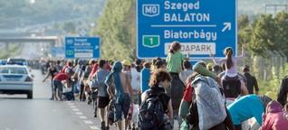 Flüchtlinge in Deutschland: Ein historisches Wochenende | story.