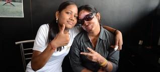 Entstellt, aber nicht entmutigt - Säureattacken gegen Frauen in Indien