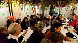 Sukkoth: Wenn's klopft und hämmert