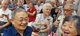 Wein-Anbau: Rotwein vom Rande der Wüste Gobi