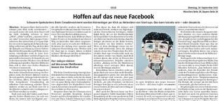 Hoffen auf das neue Facebook