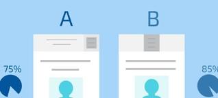 Mit A/B-Testing die User Experience verbessern