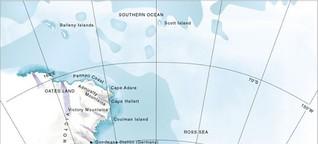 Meeresschutzgebiet im Ross-Meer