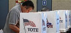 Umfragen sehen Clinton vorn