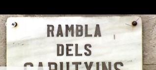 Berühmte Boulevards: La Rambla