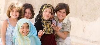 Syrien: Mesopotamien. Trockene Wüstensteppen, fruchtbare Landstriche