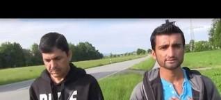 Video-Reportage: Alltag für Flüchtlinge in Holzkirchen