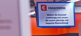 Verbraucher-Kredit als Schuldenfalle