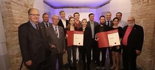"""Bild zu Text:ÖJC und Google verliehen """"New Media Journalism Award 2016"""""""