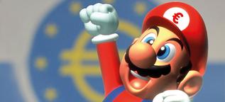 """EZB-Zinsentscheidung: Wie weit dreht """"Super""""-Mario auf?"""