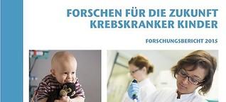 Kinderkrebs-Zentrum Hamburg: Forschungsbericht 2015